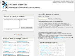 Evaluationdedomaine.com